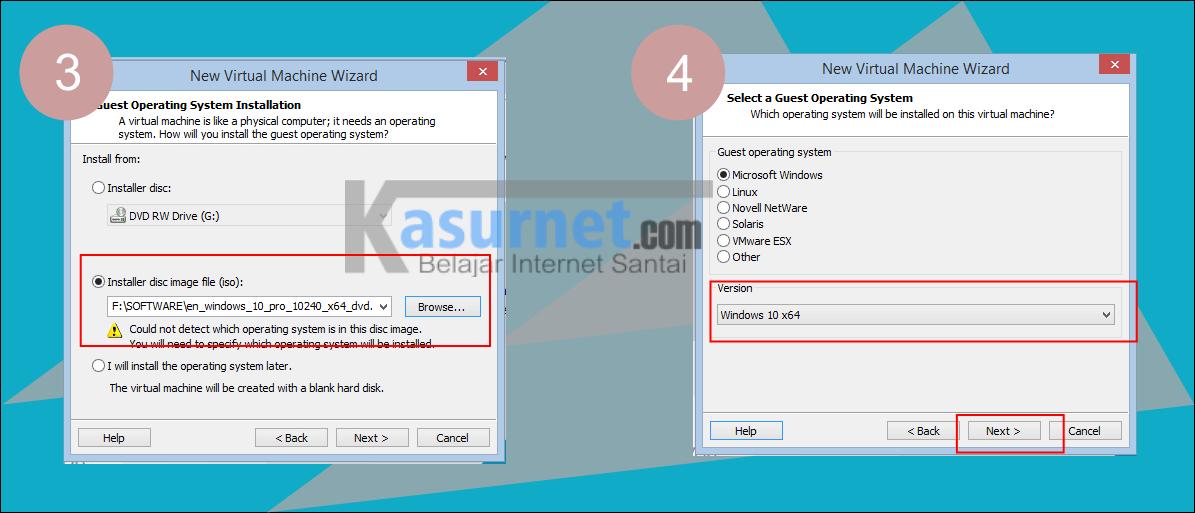 Tutorial Install Windows 10 di VMWare