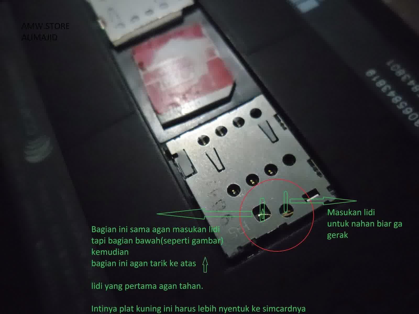 Cara memperbaiki sim card tidak terbaca zenfone 5