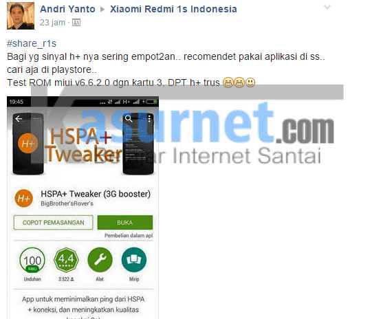 Cara Memperkuat Sinyal Android 3G Menjadi H+