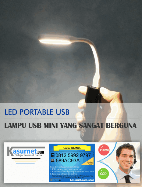 LED Lampu Portable USB