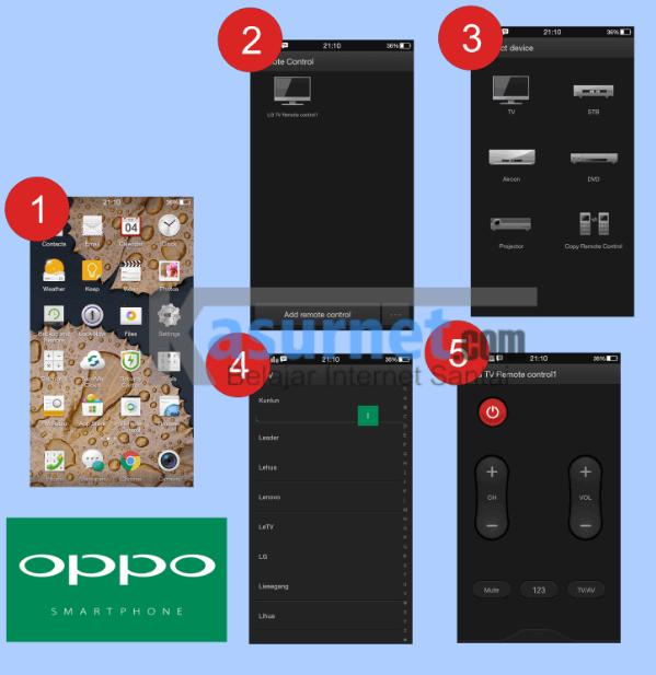Tutorial Mengganti Channel Tv dengan Oppo Mirror 3