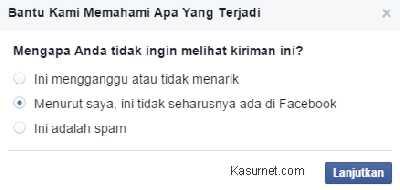 Cara Melaporkan Postingan Tidak Pantas Ke Facebook