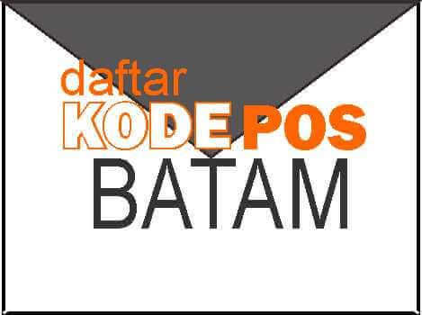 Kode POS Batam