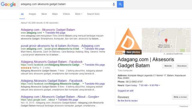 Pengalaman Pin Google Bisnis Nyampe Rumah