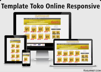Template Toko Online Responsive BlogTokoResponsive