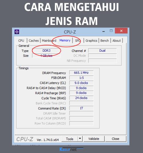 Cara Mengetahui Jenis RAM