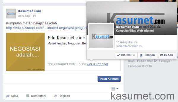 Cara Memasang Authorship Facebook di Website