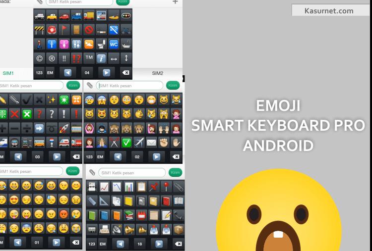 Cara Mengaktifkan Emoji Smart Keyboard Pro Android