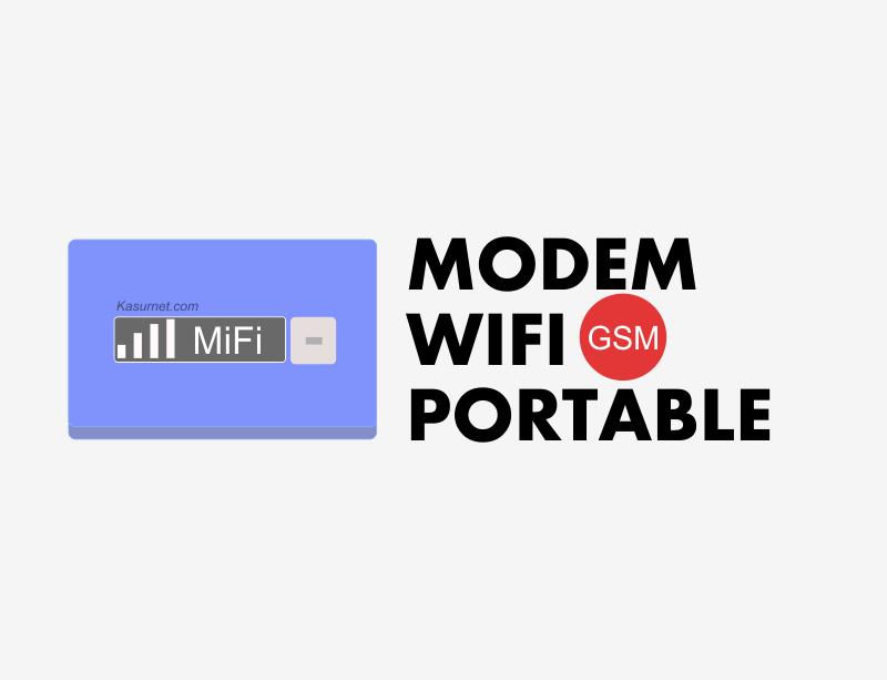 Daftar Modem GSM Wifi 2016