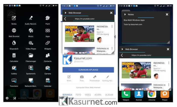 Aplikasi Multi Windows Android Tanpa Root