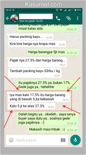 Pajak Saat Mengirim Elektronik/Smartphone dari Batam