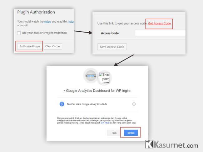 Cara Install Plugin Google Analytics Dashboard WordPress