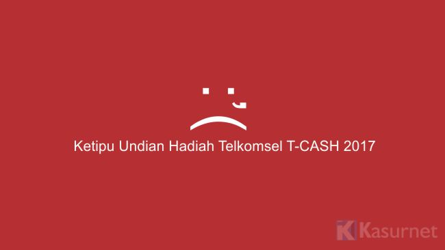 Ketipu Undian Hadiah Telkomsel 2017