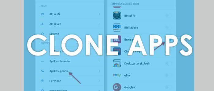 Begini Cara Clone Apps di MIUI 8 Android