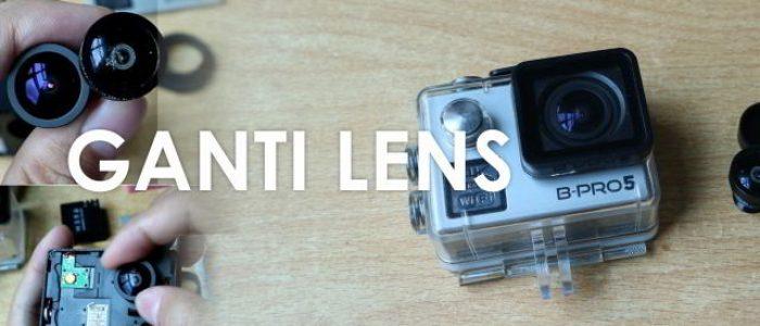 Tutorial Cara Ganti Lensa BPRO5 dengan Lensa Gopro 170