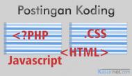 Permalink ke Cara Memasukan Koding Dalam Postingan WordPress