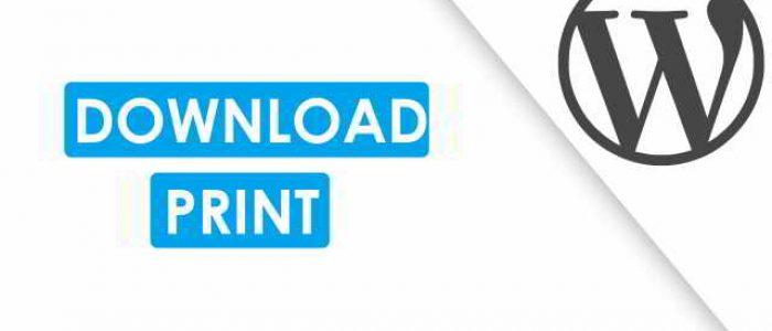 Cara Menambahkan Fitur Download File PDF, Print Situs WordPress