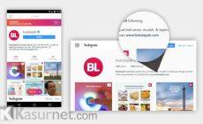 Permalink ke Cara Menambahkan Link di Bio Instagram