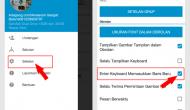 Permalink ke Cara Menambahkan Tombol Enter di BBM Android