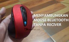 Permalink ke Cara Menyambungkan/Pairing Mouse Bluetooth 3.0 2.4GHz 1600DPI