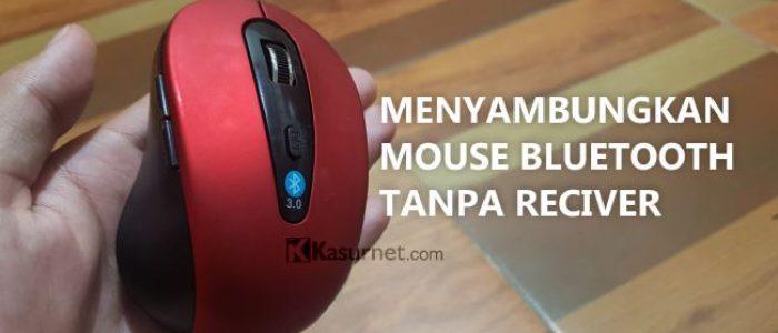 Cara Menyambungkan/Pairing Mouse Bluetooth 3.0 2.4GHz 1600DPI