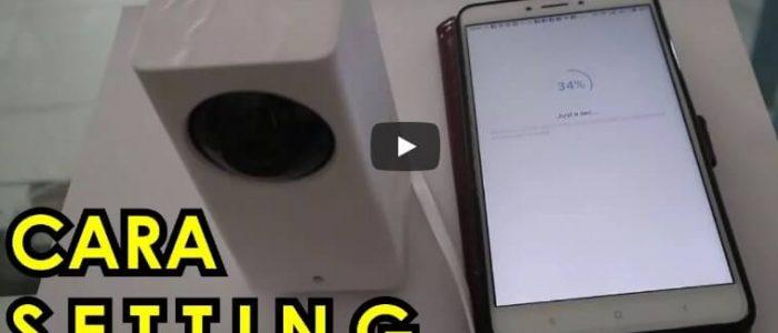 Cara Setting CCTV Xiaomi