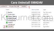 Permalink ke Cara menghapus uninstall SMADAV dengan bersih