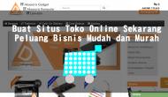 Permalink ke 6 Widget Untuk Website Toko Online