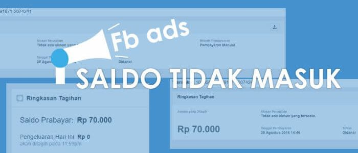 Pengalaman Saldo Facebook Ads Tetap 0 Setelah Transfer