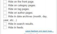 Permalink ke Cara Menyembunyikan Postingan di Halaman Tertentu WordPress