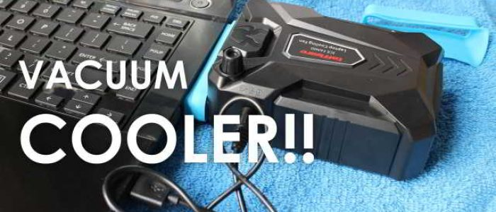 Unboxing Review Taffware Universal Laptop Vacuum Cooler