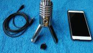 Permalink ke Mic Samson Meteor Mic d Pake Smartphone