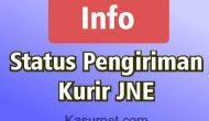 Permalink ke Penjelasan Status Pengiriman JNE Lengkap