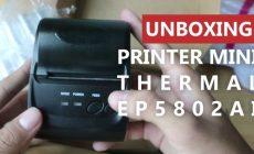 Permalink ke Unboxing EPPOS Mini Thermal Printer EP5802AI Bluetooth