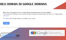 Permalink ke Beli Domain Di Google Domains