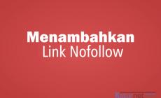 Permalink ke Cara Menambahkan Pilihan Nofollow Link WordPress