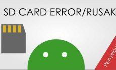 Permalink ke Penyebab Kartu Memori Card Error dan Rusak