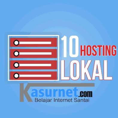 10 Hosting Lokal