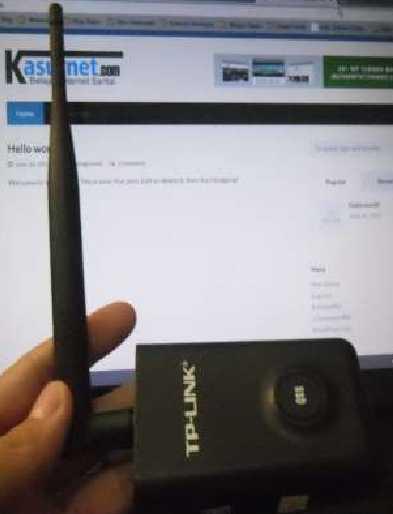 Memperkuat Sinyal Internet Wifi