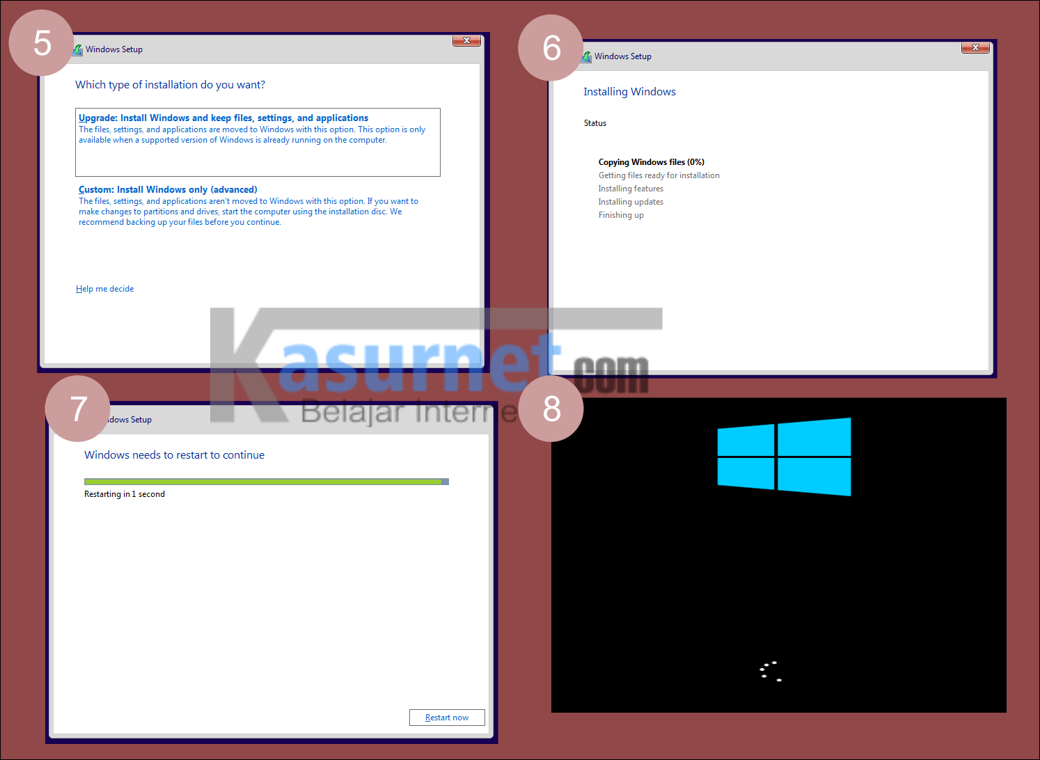 Tutorial Install Windows 10 di VMWare