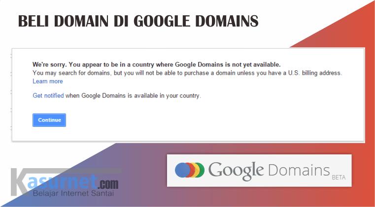 beli doamin di Google somains