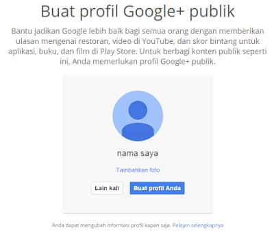 Menghubungkan akun gmail dengan google+