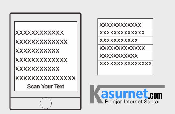 Scan Foto Tulisan Menggunakan Android Smartphone
