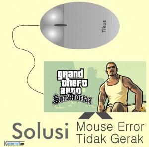 Mengatasi Cursor GTA SA PC Tidak Berfungsi