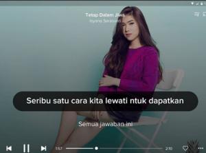 Menampilkan Lirik Lagu Pada Hp Android Termudah