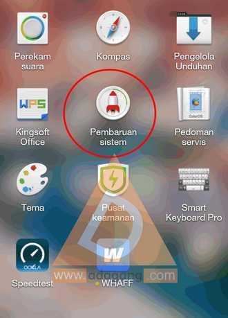 Cara Update ke Sistem Operasi Terbaru OPPO Mirror 3