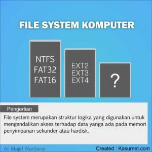 File System Komputer Materi Bahan Ajar
