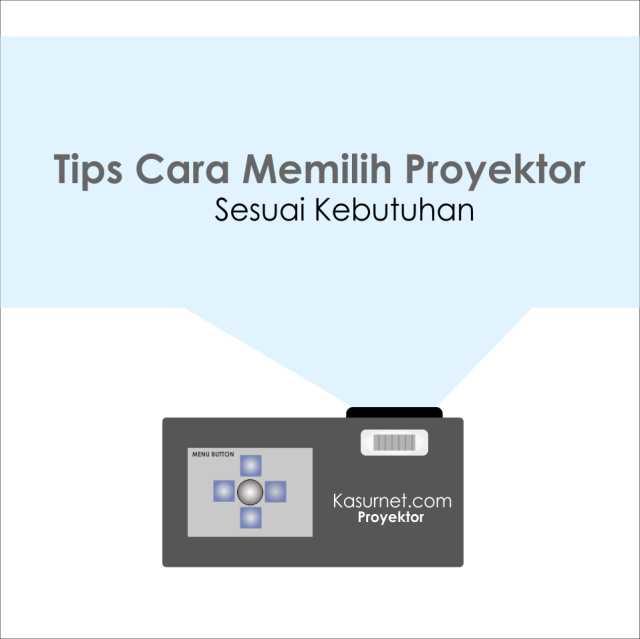 Tips Cara Memilih Proyektor Sesuai Kebutuhan
