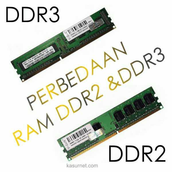 Perbedaan RAM DDR2 dan DDR3