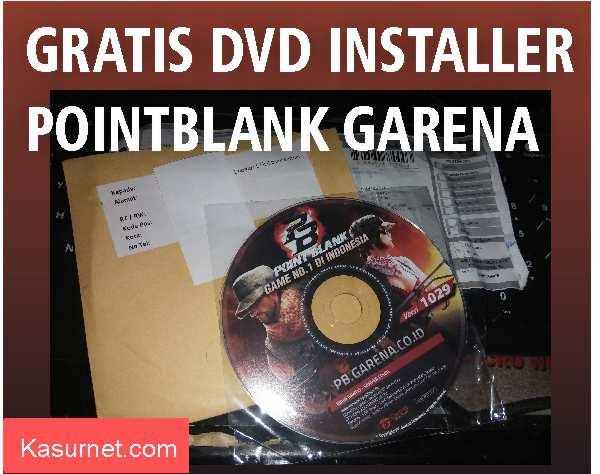 Dapat DVD Installer PointBlank Garena Gratis
